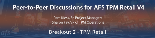 Peer-to-Peer Discussions for AFS TPM Retail V4