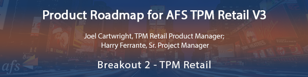 Product Roadmap for AFS TPM Retail V3