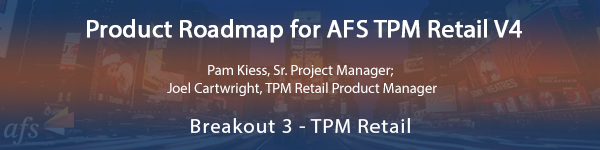 Product Roadmap for AFS TPM Retail V4