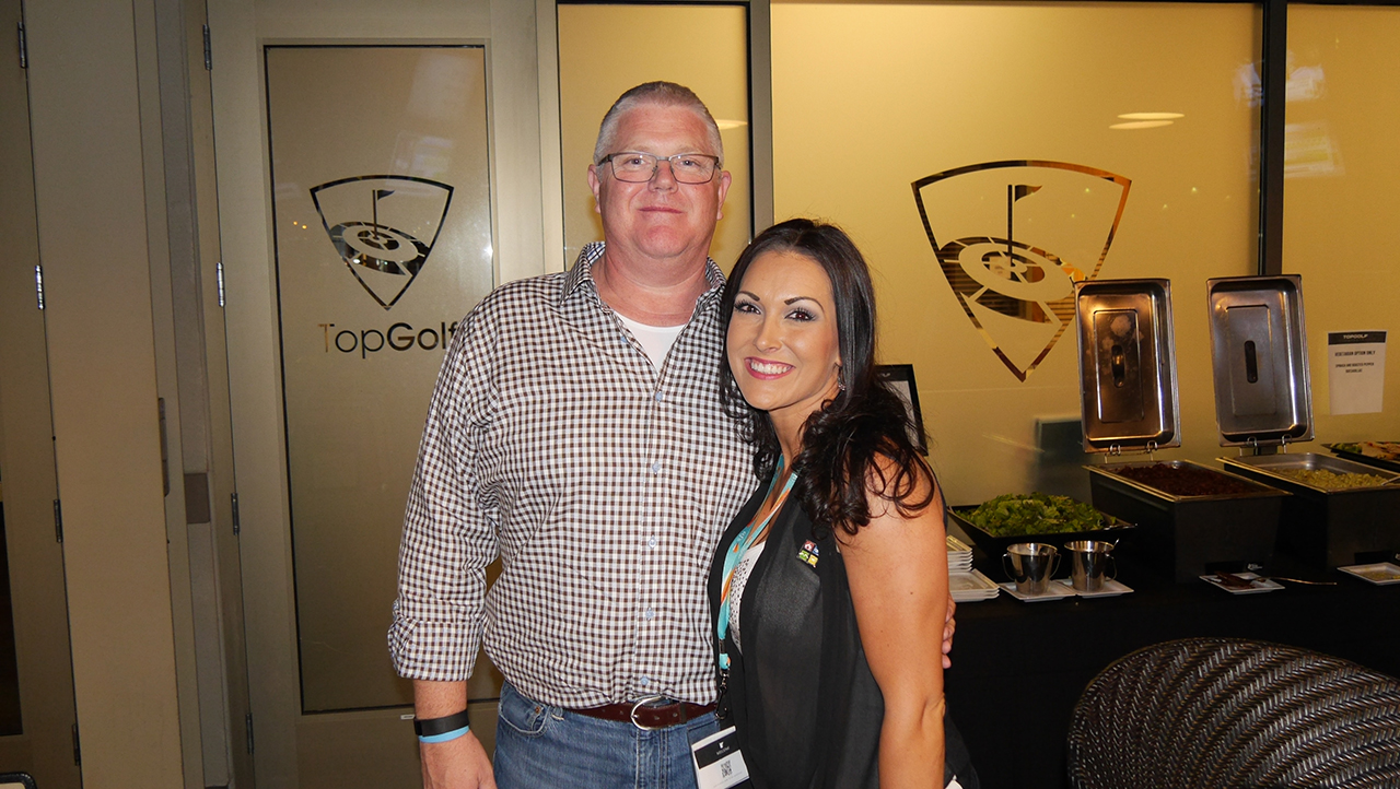 Jim Caudill and Stefanie Cerio