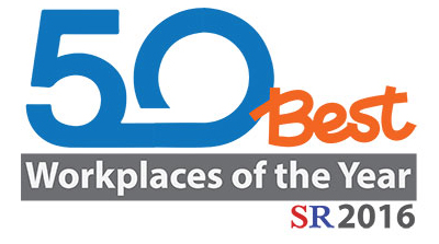 Award for 50 Best Workplaces 2016