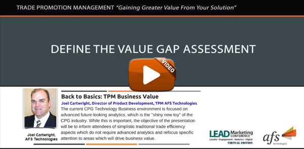 Lead Marketing Conference Spring 2018 Back To Basics Tpm Business Value Afs